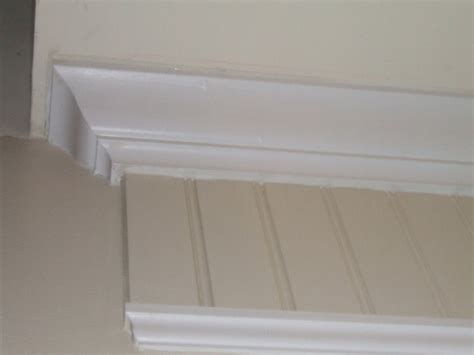 beadboard cap molding wainscotting and using beadboard only inside the moldings