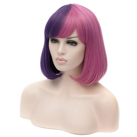 large bobos hairstyle pics charming short mixed colof female wigs bobo hairstyle