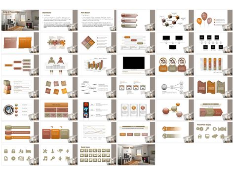 Modern Interior Powerpoint Templates Modern Interior Powerpoint Backgrounds Templates For Interior Design Presentation Templates