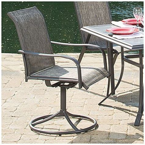 Wilson And Fisher Log Chair by Wilson Fisher 174 Monterra Set Of 2 Swivel Rockers Chairs