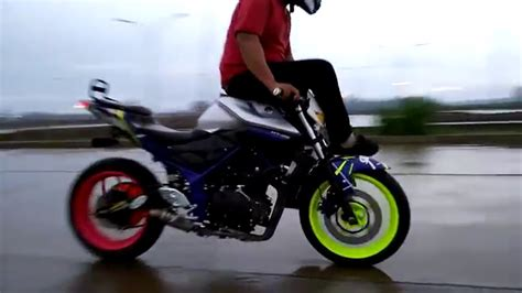 2nd Stopl Motodynamic Yamaha R25 Mt25 freestyle motor pake yamaha mt25