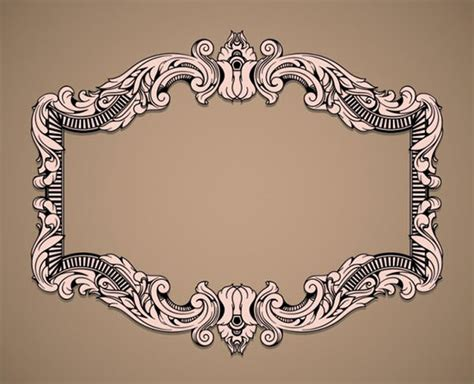 design your frame online 20 free vector vintage frame designs