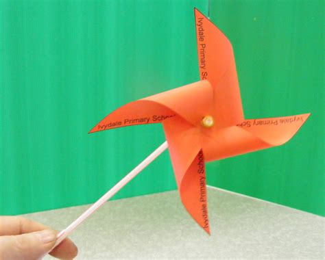 How To Make Paper Windmill Fans - model windmills