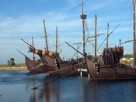 barcos de cristobal colon la niña la pinta yla santa maria file pinta ni 241 a y santa mar 237 a en el muelle de las