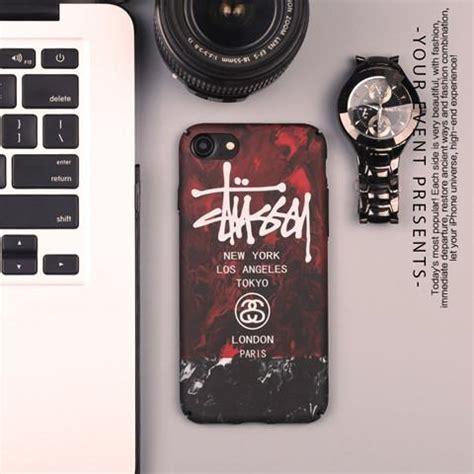 Patta Stussy Samsung S6 Edge Plus Cover Casing Hardcase ストーリートブランド ステューシー stussy iphone8 7s 7 plus 6s かっこいいスタイル マット質感 落書き風 目立つ