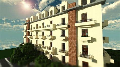 Minecraft Apartment Layout Parisian Apartments Minecraft Project