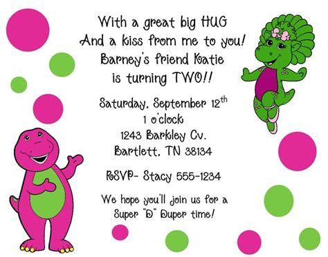 Best 25 Barney Birthday Cake Ideas On Pinterest Friends Themed Invitation Template