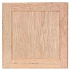 Unfinished Oak Kitchen Cabinet Doors 12 75x14 In Cabinet Door Sle In Unfinished Oak Hbksmpldr Uf The Home Depot
