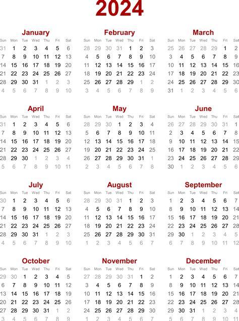 Calendar For 2024 Calendar Related Keywords 2024 Calendar
