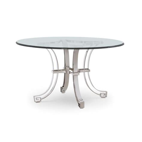 Century Furniture Dining Room Fair Park Metal Base Dining Table With Glass Top 41a 305 Norris Century 78f 806b Tableaux Metal Dining Table Base Discount Furniture At Hickory Park Furniture