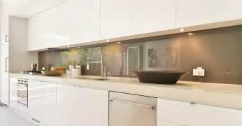 cr馘ence cuisine en verre cr 233 dence verre sur mesure