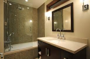 bath glass shower doors beautiful modern bath that combines shower and the bathtub
