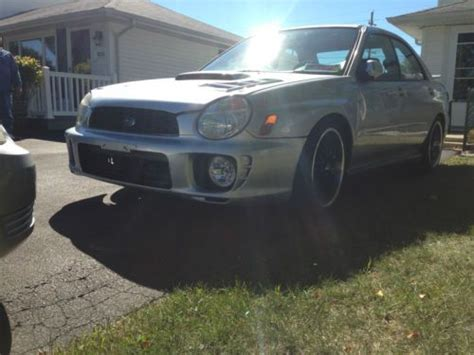 Subaru High Performance Parts by Purchase Used 2003 Subaru Impreza Wrx Silver Lots Of