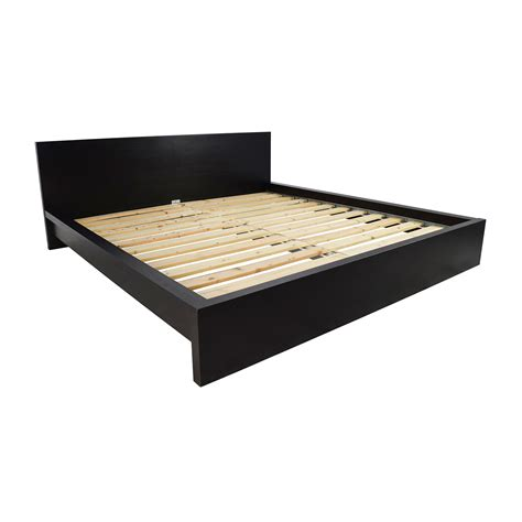 81 Off Ikea Ikea Malm King Size Bed Beds Bed Frames King Size