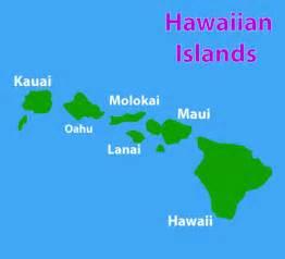 image gallery hawaii islands map