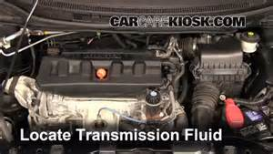 transmission fluid leak fix 2012 2015 honda civic 2012