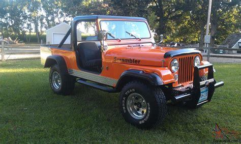 Jeep Cj 8 1981 Jeep Cj 8 Scrambler