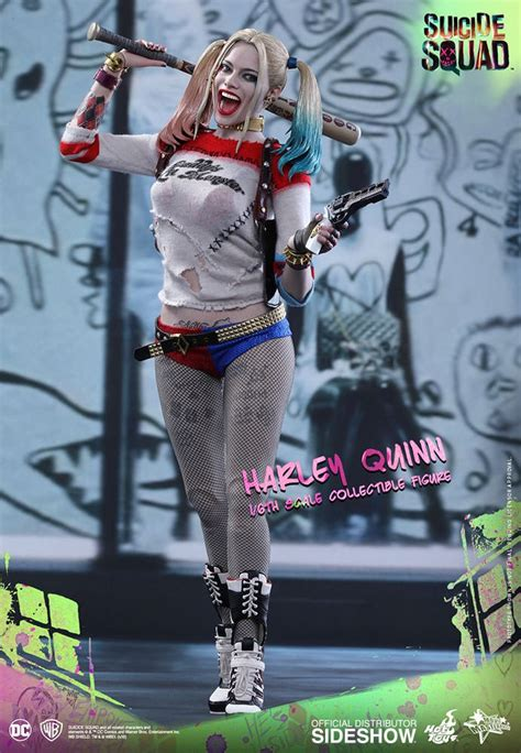 hot toys harley quinn hot toys suicide squad harley quinn 1 6 scale figure