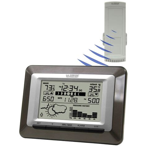 la crosse technology wireless sun moon forecast station ws