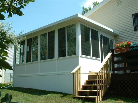 Vinyl Sunrooms vinyl sunrooms affordable 4 season sunroom installation kits