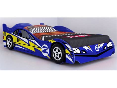 blue race car bed no 2 blue racing car bed