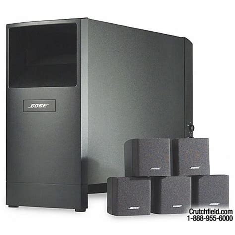 bose acoustimass 6 home theater speaker system 187 design
