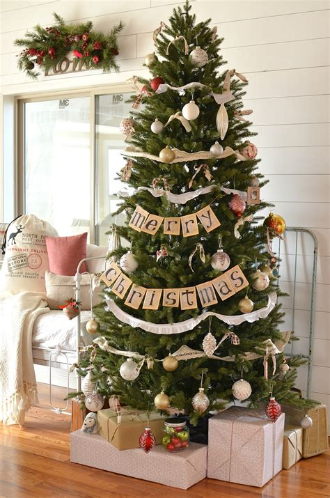 Marvelous Easiest Christmas Tree #1: Farmhouse-Christmas-Tree-6.jpg