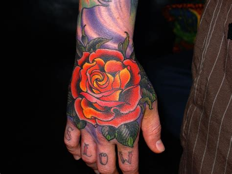 new school rose tattoos new school by jim miner tattoonow