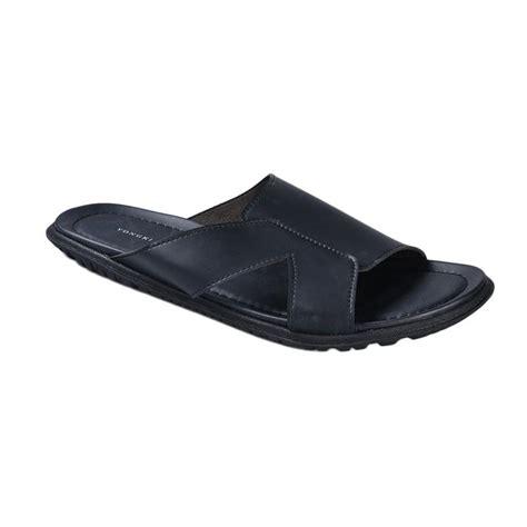 Yongki Komaladi Sandal Windi Hitam jual yongki komaladi skro 4531 sandal pria hitam