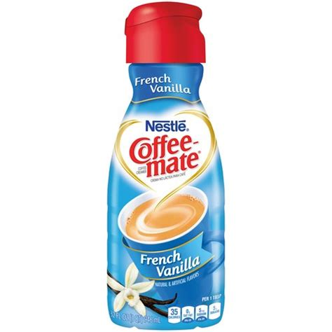 Coffee Mate Creamer nestle coffee mate vanilla liquid coffee creamer 32 fl oz walmart