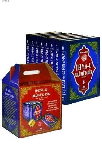 Ihya Ulumiddin Imam Gazali 8 cilt ihyau ulumid din imam gazali hisar yayınları 165