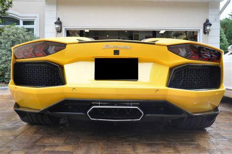 Yellow Lamborghini Aventador For Sale 2014 Lamborghini Aventador Lp700 Roadster For Sale