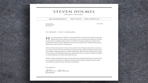 professional cover letter templates google docs