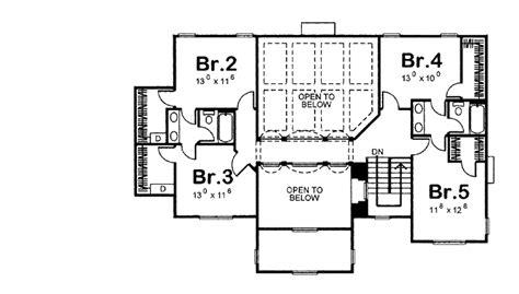 455 square feet european style house plan 5 beds 4 baths 3082 sq ft plan