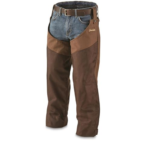 gamehide briar proof chaps 297198 upland