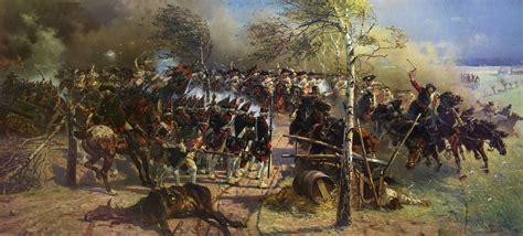 Wasserläufe Im Garten 1923 by File Wojciech Kossak The Battle Of Zorndorf 1758 1899