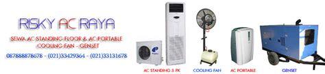 Ac Portable Di Bogor sewa rental ac standing portable cooling fan genset
