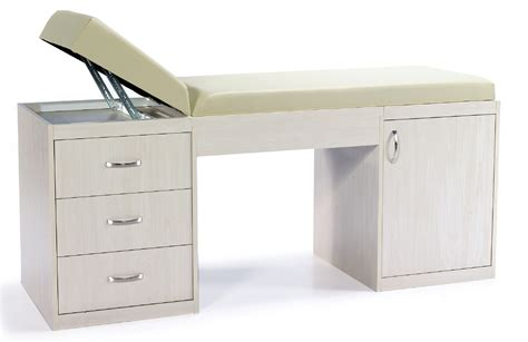 examination couch with drawers turkish examination couch with cabinet and drawers