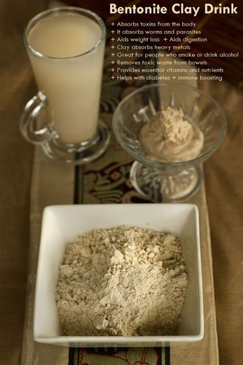 Bentonite Clay For Detox Drink by Http Www Theearthdiet Org 23 Post 2013 11 Bentonite Clay