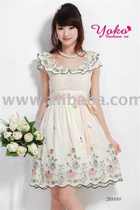 Apricot Orange Dress Korean Style Dress yoko 28888 apricot korean style dress