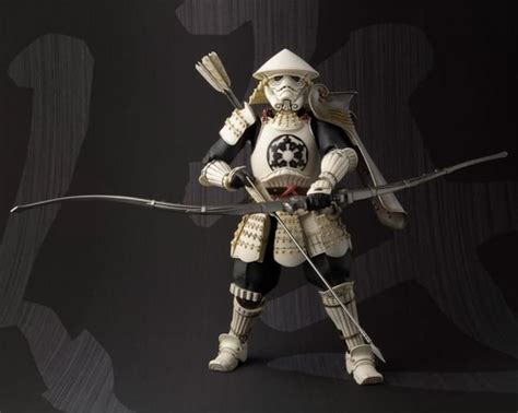 figure finder limited edition wars samurai stormtrooper figure