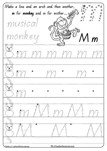 Foundation Writing Worksheets by Printable Handwriting Practice Sheets K 3 Resources