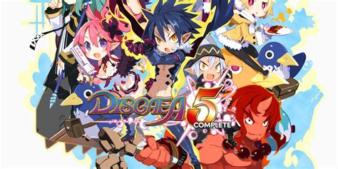 Kaset Switch Disgaea 5 Complete disgaea 5 complete nintendo switch nintendo