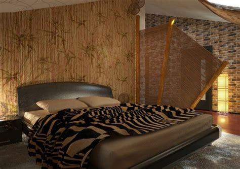 afrika schlafzimmer ideen innendesign mit exotischem afrika flair