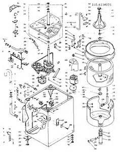 00017434 00001 kenmore washer model 110 parts diagram on dryer door switch wiring diagram