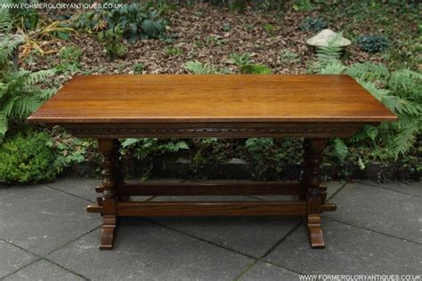 Old Oak Refectory Table For Sale In Uk View 19 Bargains Second Oak Dining Table