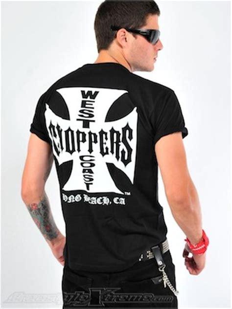 west coast choppers black iron cross t shirt west coast choppers freestylextreme america