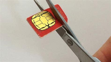Iphone Sim Card Cutting Template