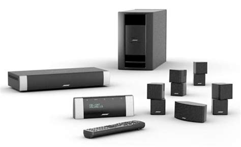 bose lifestyle v30 home theater system black