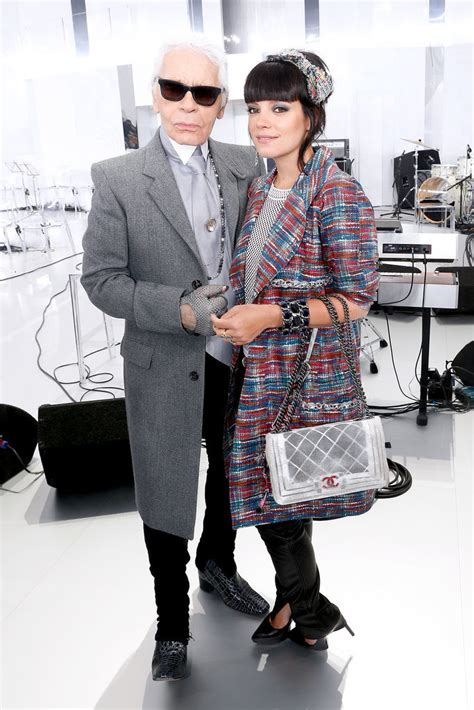 Lilly Allen For Chanel by Allen At Chanel The Most Faces In The Front